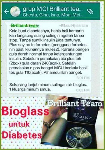 testi bioglass 10