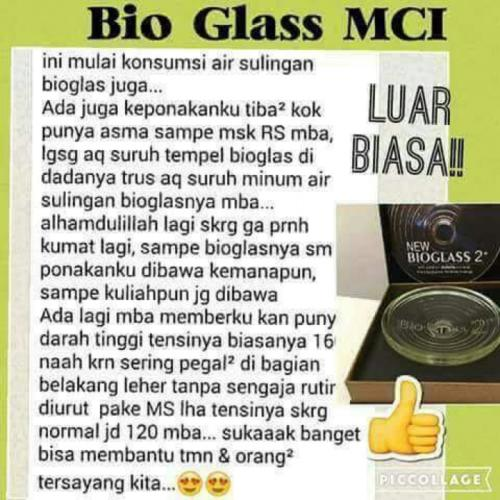 testi bioglass 2
