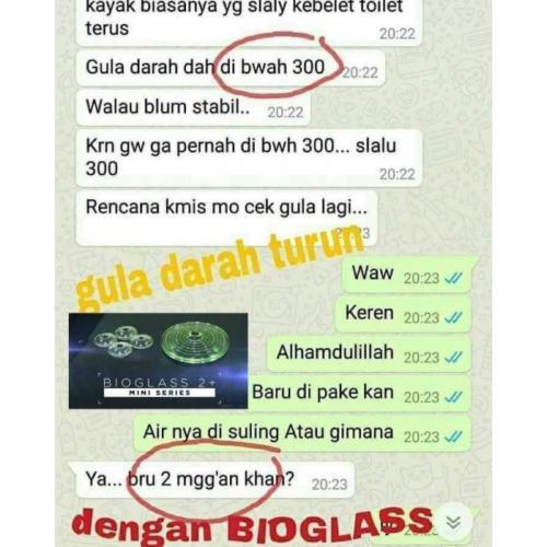 testi bioglass 23