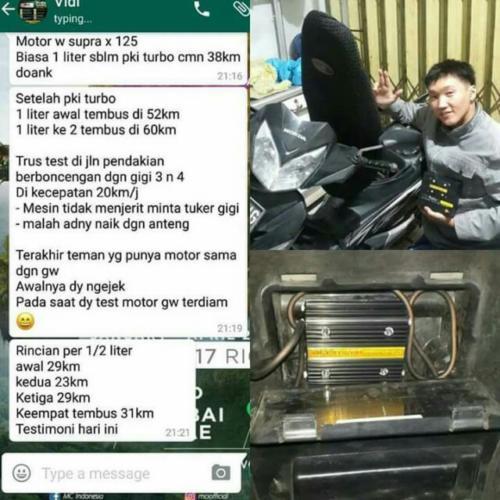 testi mgi turbo motor 6