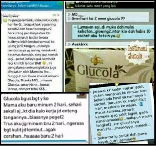 testimoni glucola 13