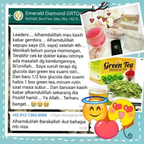 testimoni green tea 14