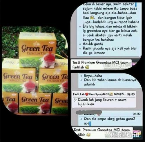 testimoni green tea 16