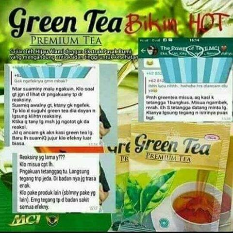 testimoni green tea 21
