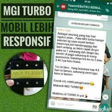 testimoni mgi turbo mobil 3