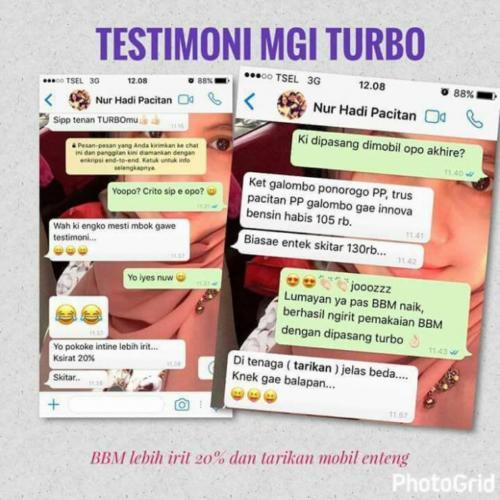 testimoni mgi turbo mobil 5